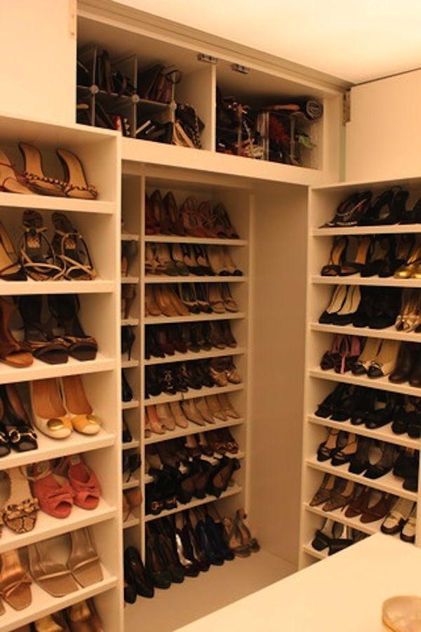 Wonderful Shoe Storage Walk In Shoe Closet