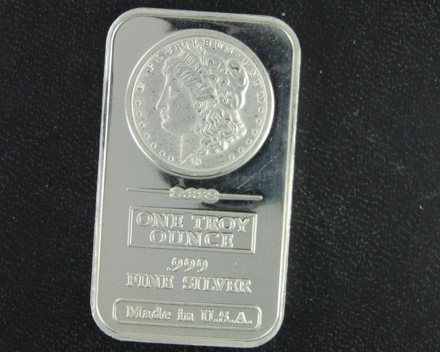Morgan 999 Pure Silver Bar One Ounce Silver Bullion 99 9 Pure Silver Silver Bars Silver Rounds Gold Bullion Coins Silver Bullion Coins Silver Bullion