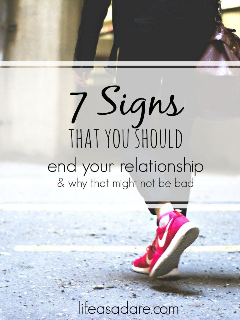 How to decide when to end a relationship