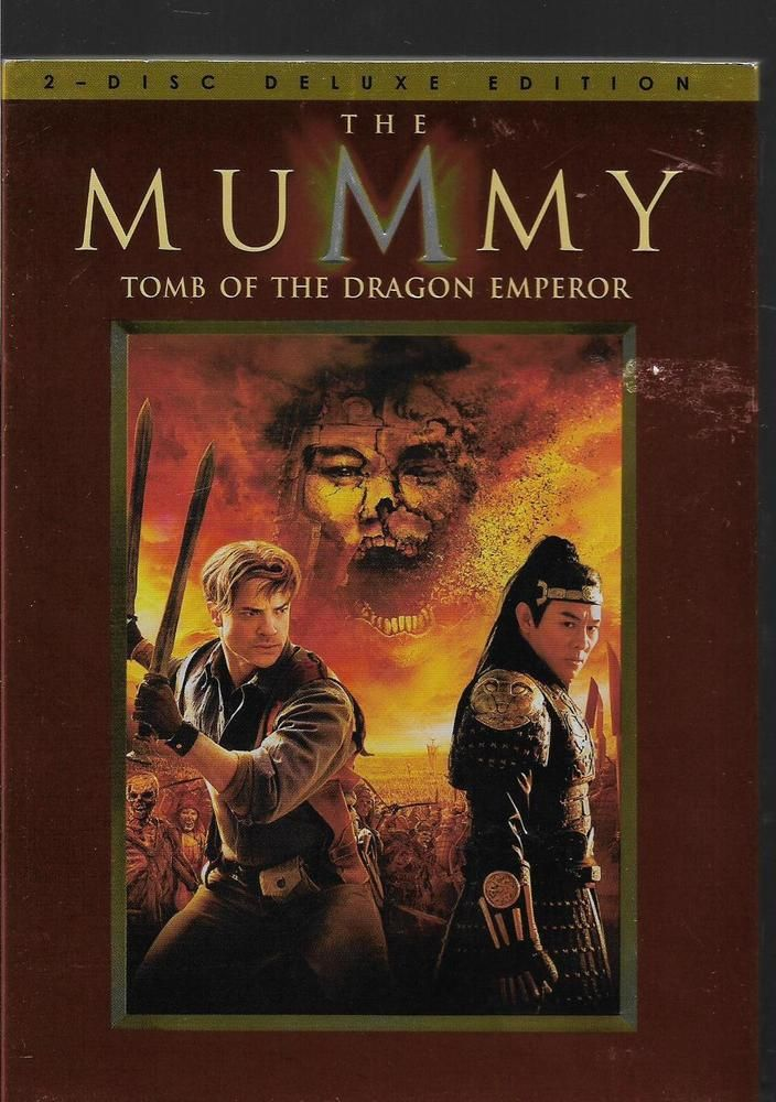 The Mummy Tomb Of The Dragon Emperor Brenden Fraser Dvds The