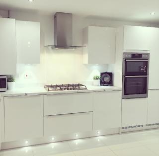 White Kitchen Grey Worktop kitchen modern kitchen marble worktop white kitchen white and grey