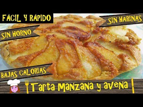 Tarta De Manzana Y Avena Sin Horno Sin Lactosa Bajas Calorias Lista En 15 Rápido Fácil Y Barato Recetas De Comida Fáciles Comida Postres Recetas De Comida
