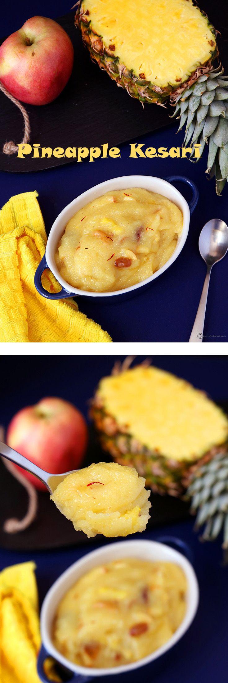 Fruit Kesari | Recipe | Indian desserts, Indian dessert