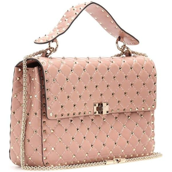 Valentino Rockstud Handbag2 Leather 805 Quilted Spike hQsxtCrd
