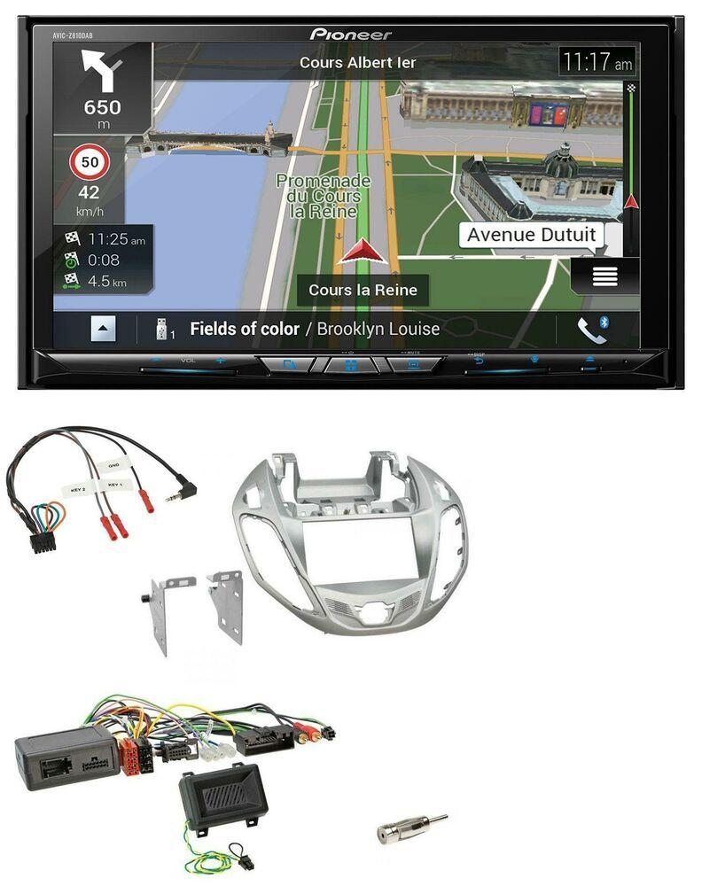 Pioneer 2din Dab Bluetooth Tmc Usb Lenkrad Navigation Für Ford B Max Ab 2013 Nes Gps Hifi Category
