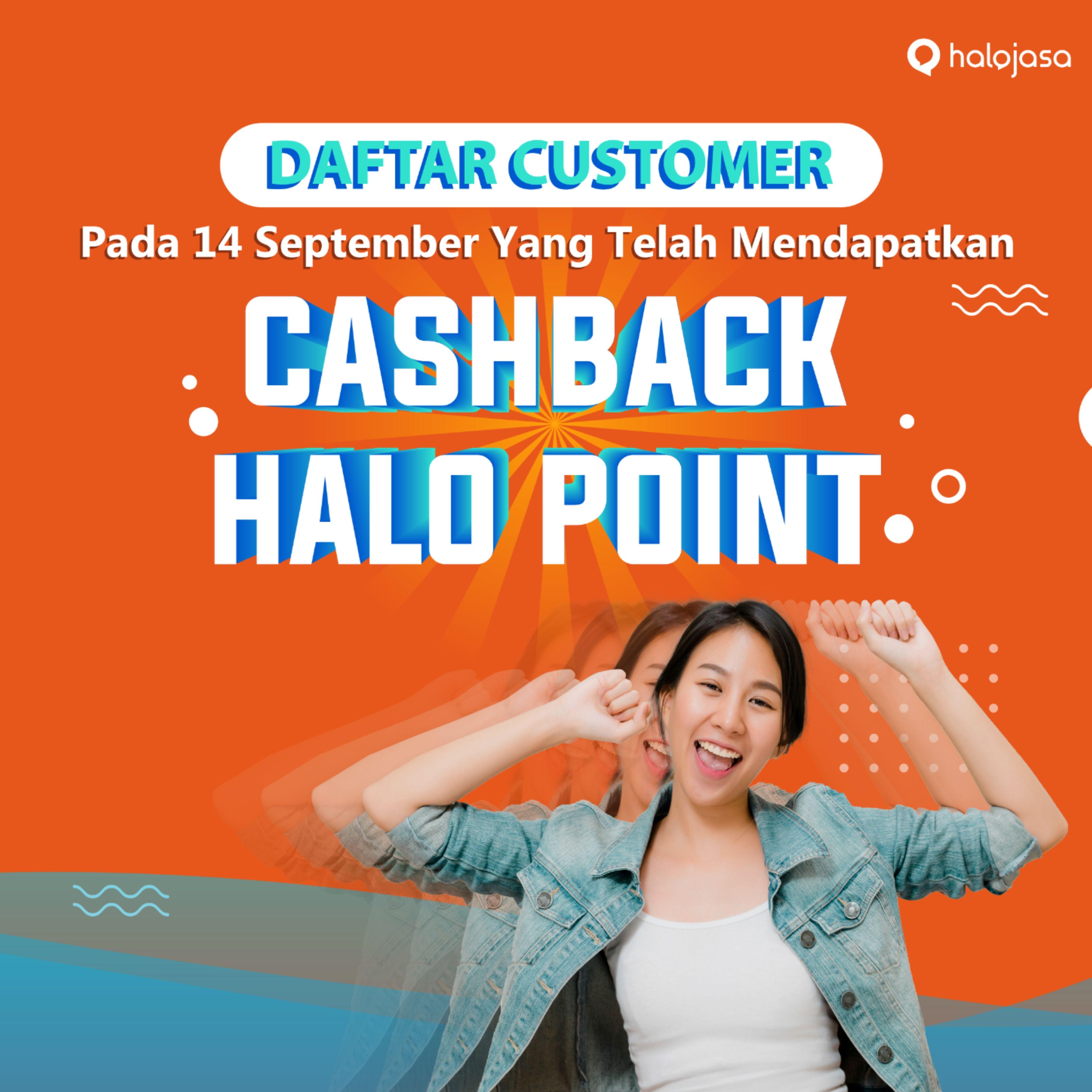 Cashback Halo Point Aplikasi Beri