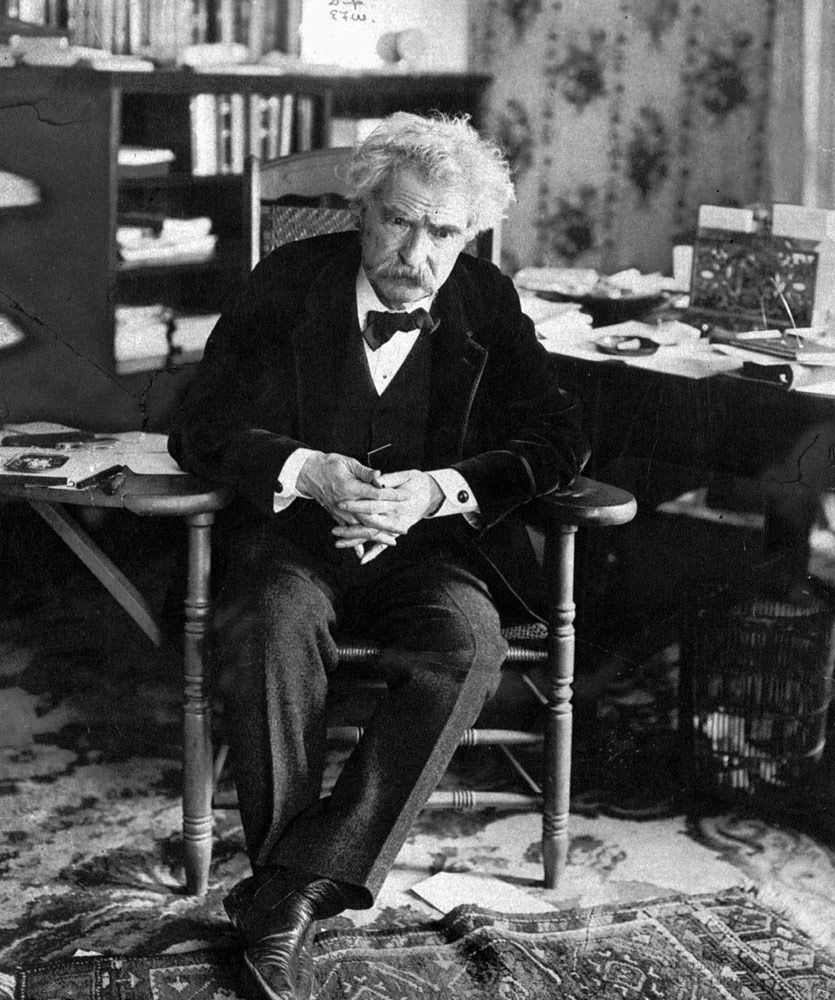 Mark Twain (With images) Famous authors, Mark twain