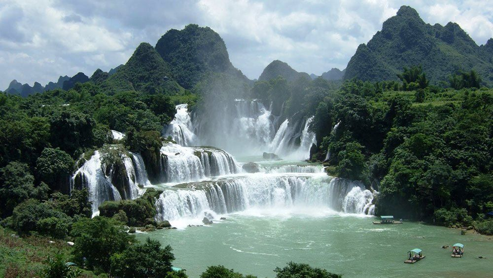 Image result for amazing waterfalls in vietnam