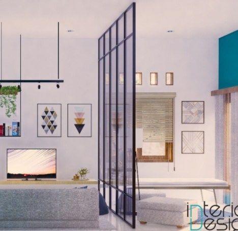 cara mendekorasi ruang tamu sempit menjadi terlihat lebih