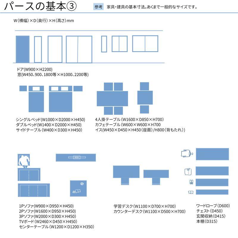 定規不要で描ける 室内パースの基本 パース 建築図面