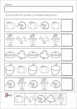 Math Worksheets Activities Autumn Numbers Preschool Preschool Learning Preschool Worksheets