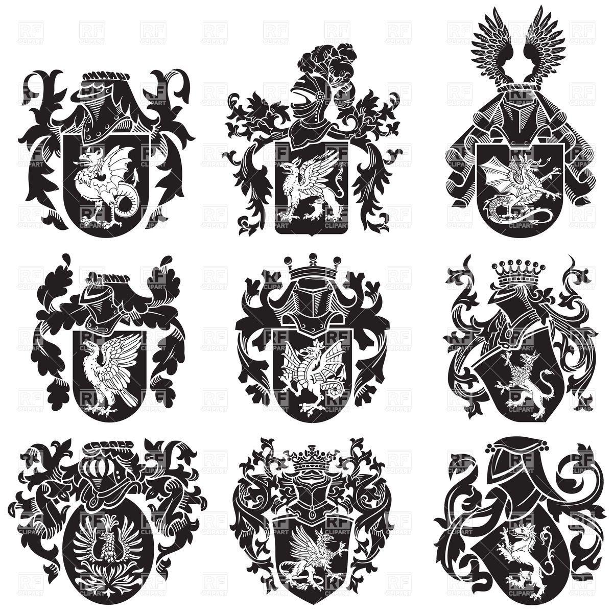pics for gt medieval heraldry symbols family crest