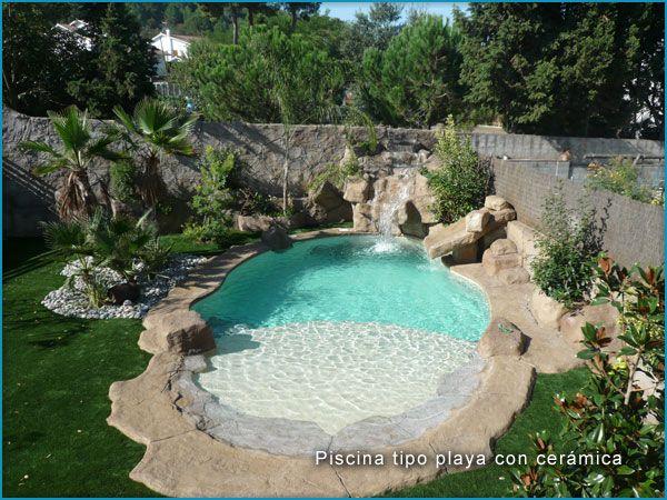 Super piscinas pesquisa google piscinas de sonho - Cascadas de piedra artificial para piscinas ...