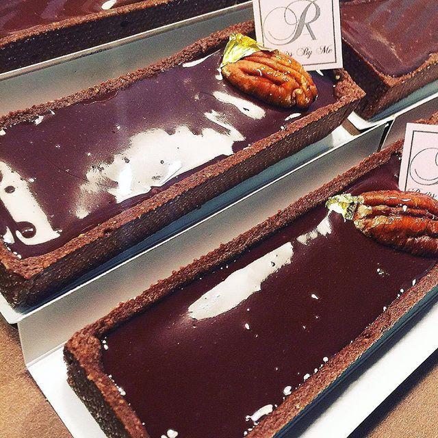 Tarte brownie chocolat pour un goûter gourmand #patissbyme #tarte #chocolat #gouter #patisserie #gateauxparve #parve #loubavitch
