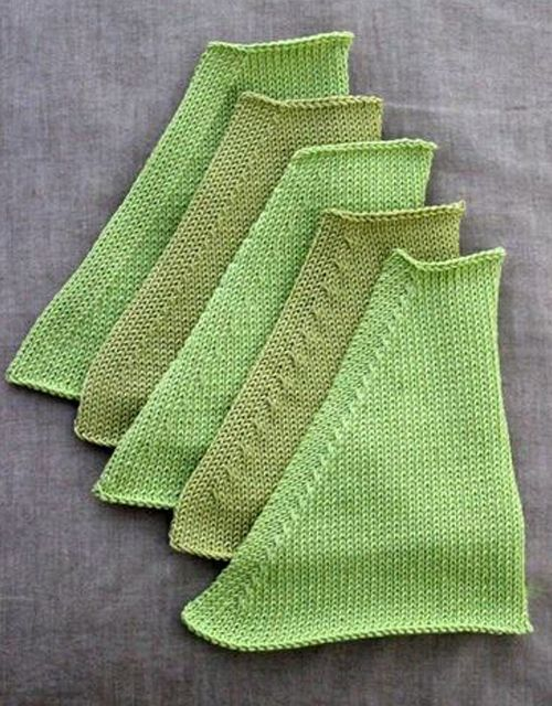 Different Decrease Styles - Tutorial #knittinginspiration