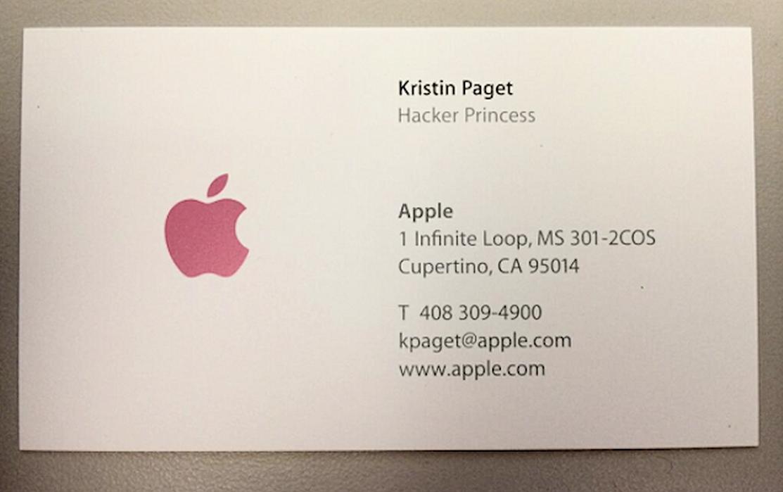 apple business card template - Pertamini.co