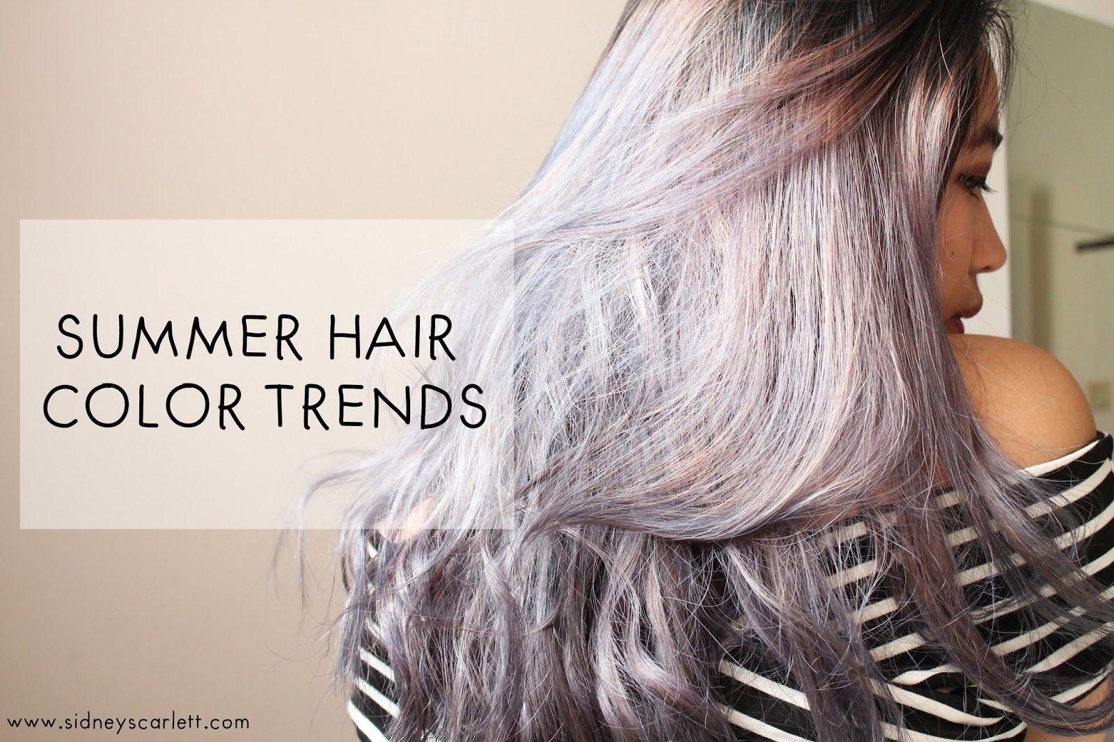 Sidney Scarlett | fashion | lifestyle | travel | personal blog: Ash Purple Hair for Summer 2017