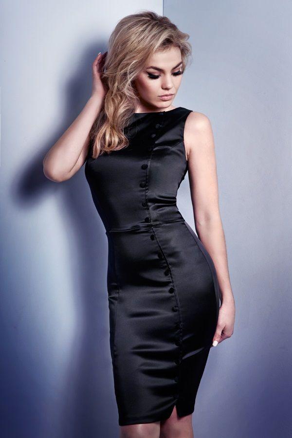 Irma La Douce Dress in Black