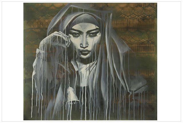African street art | Stunning Street Art by South African Street Artist faith47