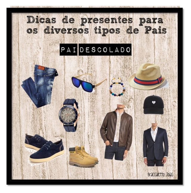 """""""Docas de presentes para os diversos tipos de pai"""" by jamary-alves on Polyvore featuring American Eagle Outfitters, Missani, Brooks Brothers, Caterpillar, Michael Kors, men's fashion e menswear"""