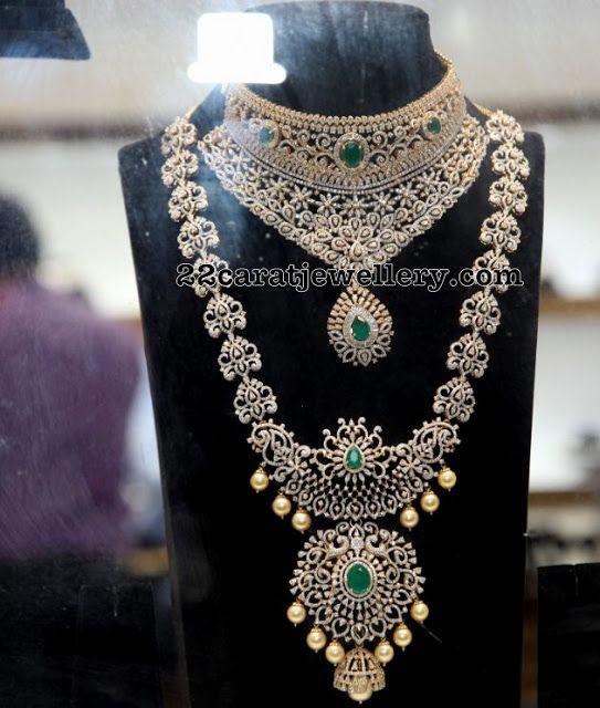 Indian Diamond Wedding Jewellery Sets In 2020 Wedding Jewelry