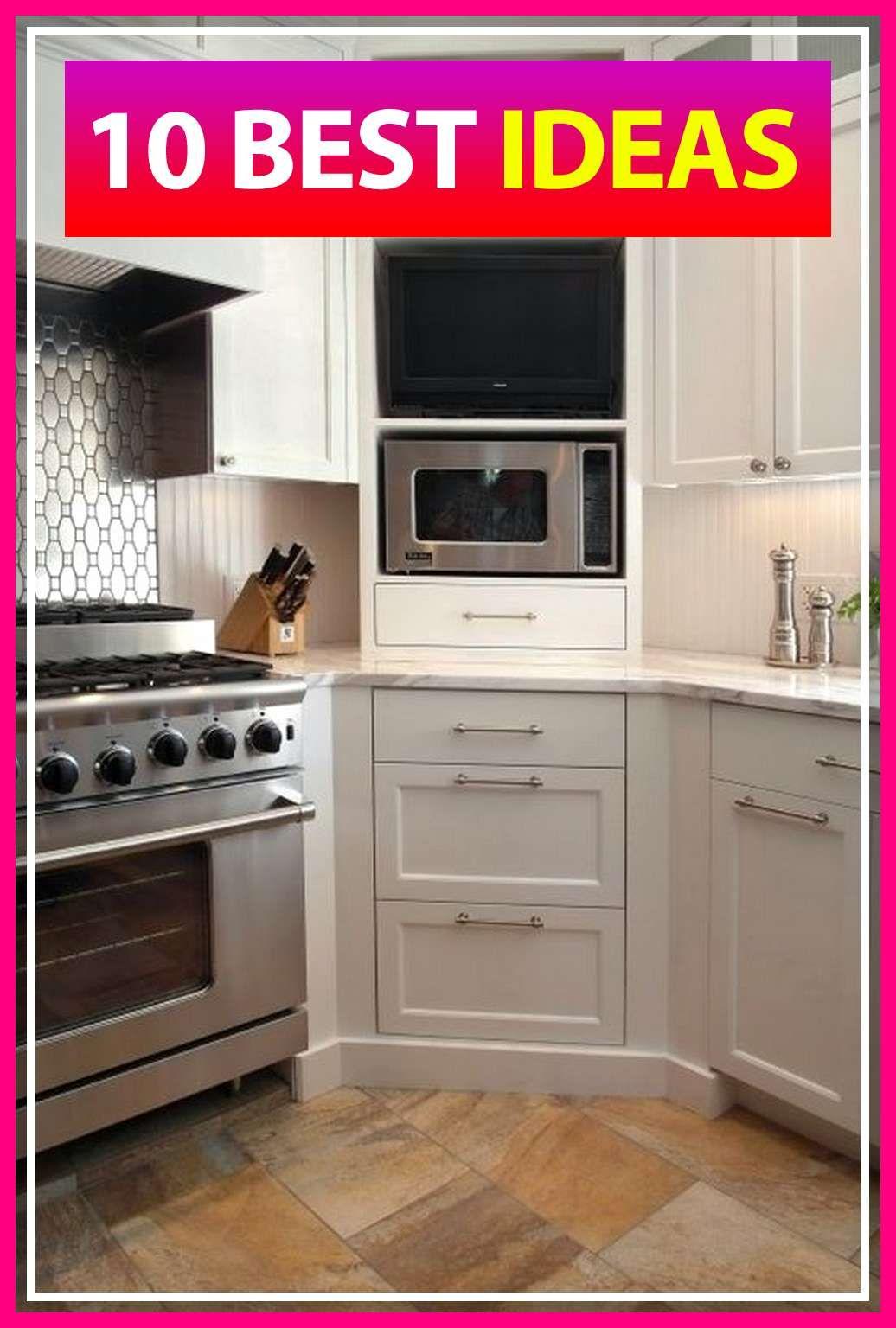 10 Stylish Kitchen Cabinets With Microwave Shelf Ideas Kitchen Cabinet Design New Kitchen Cabinets Corner Kitchen Cabinet
