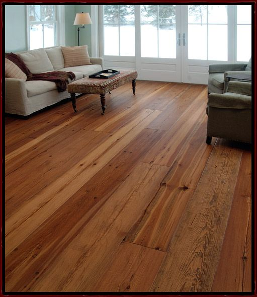 Historic And Reclaimed Wide Plank Heart Pine Hardwood
