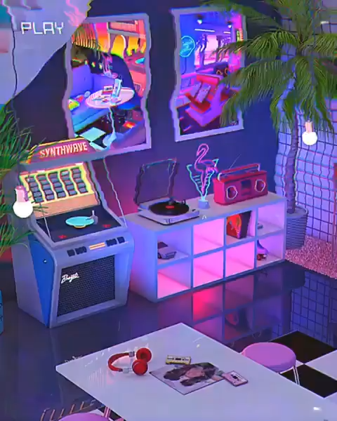 Paradise denny busyet chill synthwave house and music new retrowave - Computer Game