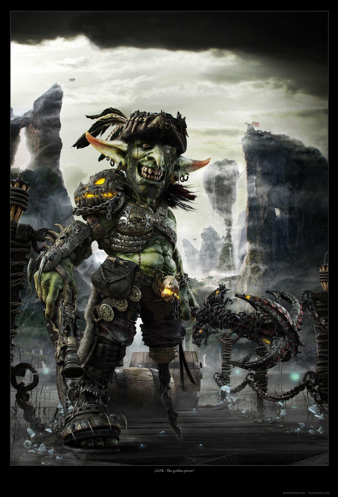 Goblin zbrush goblin goblin art digital art masters