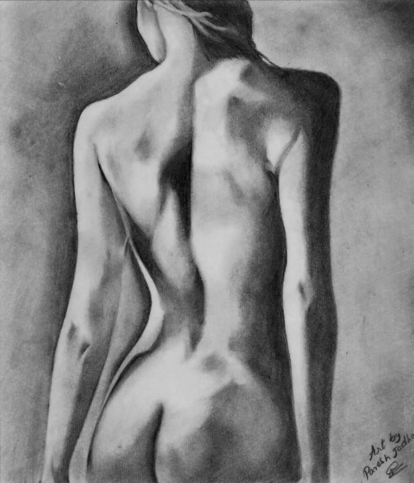 Beauty Pencil Sketch - Creative Art in Sketching by Paresh Jadhav in Portfolio Sketching at Touchtalent