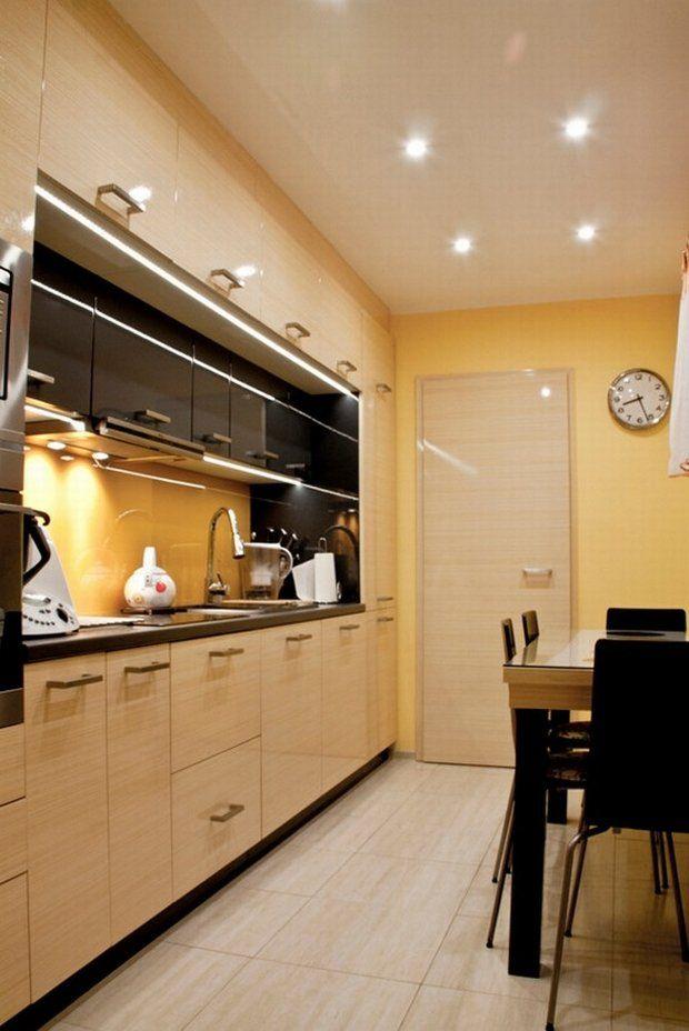 Zdjecie Nr 6 W Galerii Metamorfoza Waskiej Kuchni Kitchen Design Kitchen Cabinets Kitchen