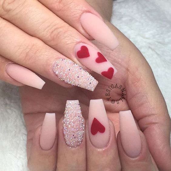30 Rocking Valentines Day Nails Designs Nail Ideas Tips