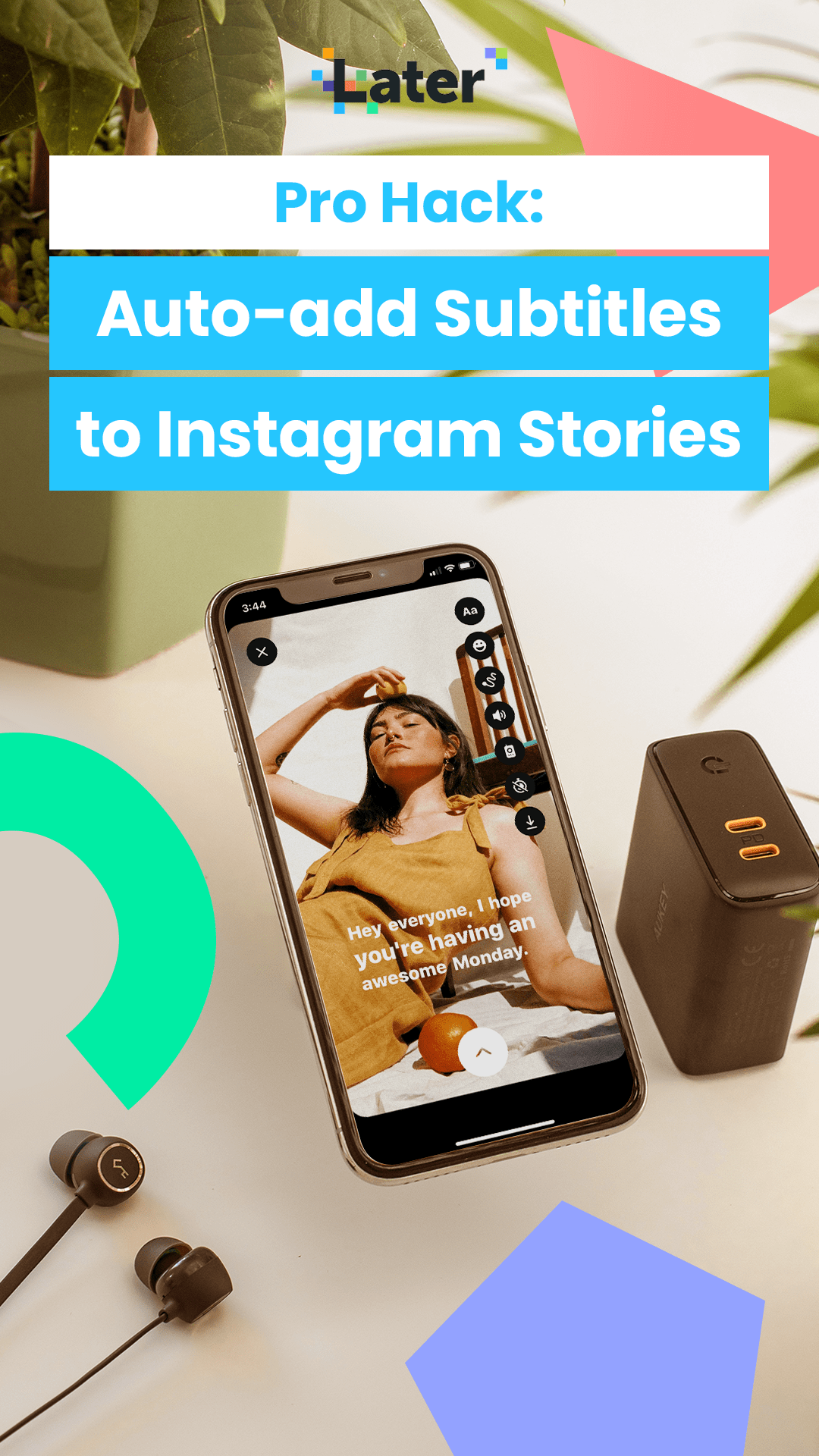 How To Automatically Add Subtitles To Your Instagram Posts Later Blog Instagram Apps Instagram Story Instagram Algorithm