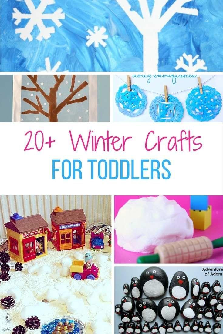 winter crafts and activities for toddlers // Actividades y manualidades de invierno para niños #kids #crafts #winter #activities