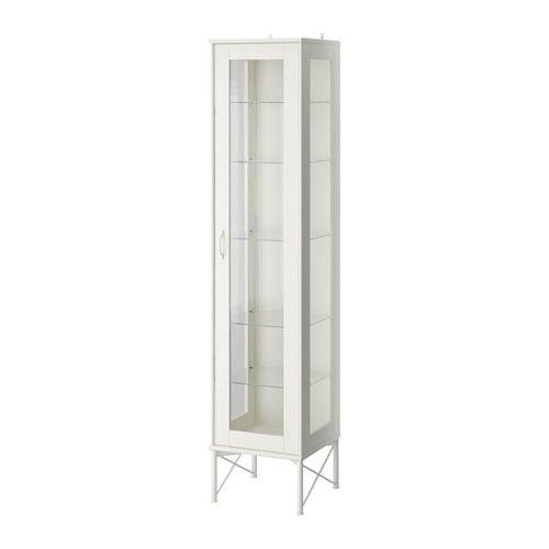 IKEA - TOCKARP, Szaf wys/szk drz, biały,