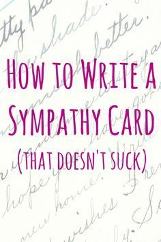 how to write a sympathy card words of comfort pinterest people