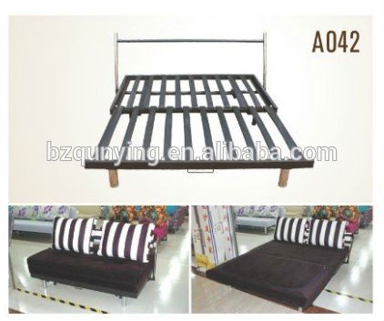 Magnificent Strong Structure Metal Slat Base Fold Out Sofa Bed Frame Andrewgaddart Wooden Chair Designs For Living Room Andrewgaddartcom
