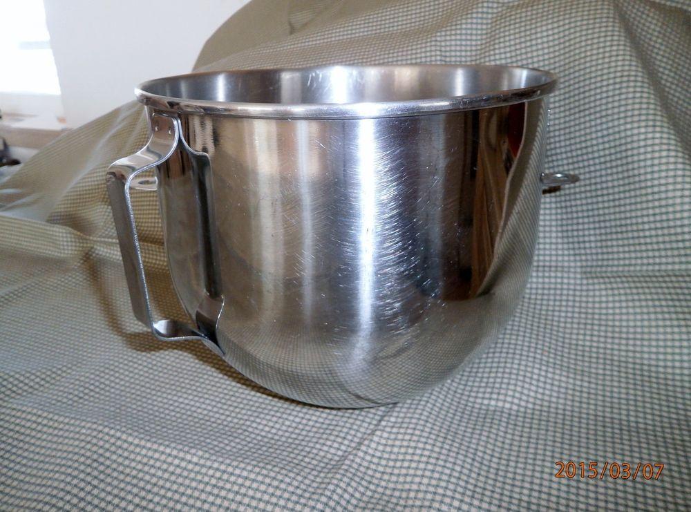 Kitchenaid 5 quart stand mixer stainless steel mixing bowl
