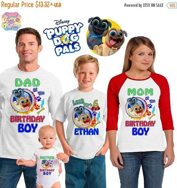 15% Off Puppy Dog Pals Inspired Family Birthday Theme