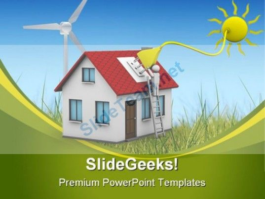 Solar Energy Science PowerPoint Template 0910 #PowerPoint - Science Powerpoint Template