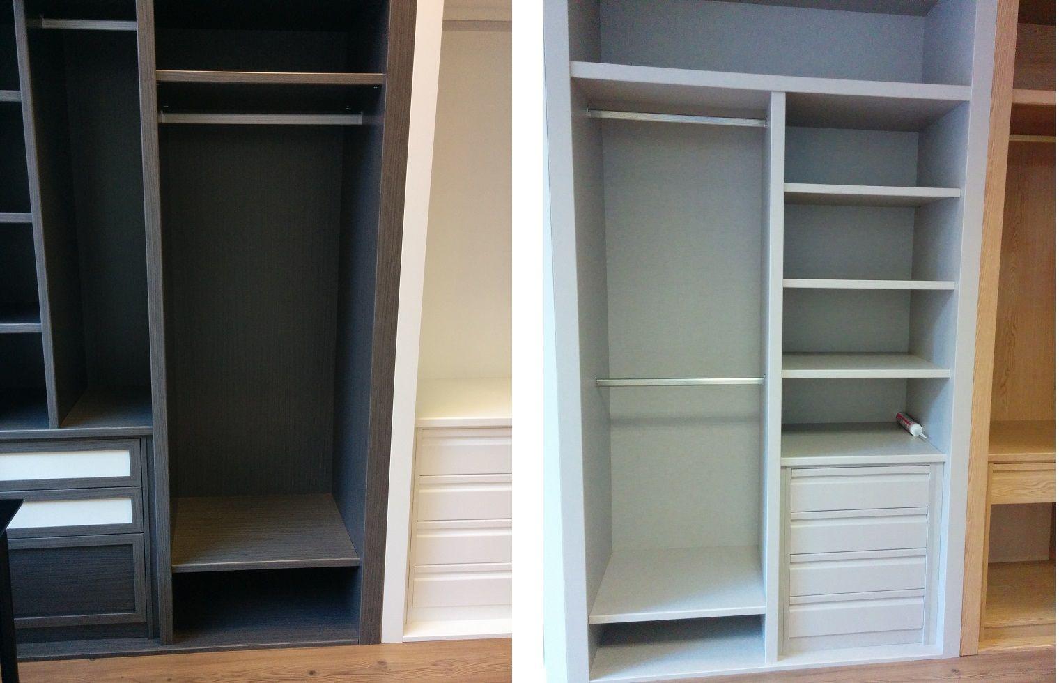 M dulos armarios deco pinterest armario peque o - Modulos armarios empotrados ...