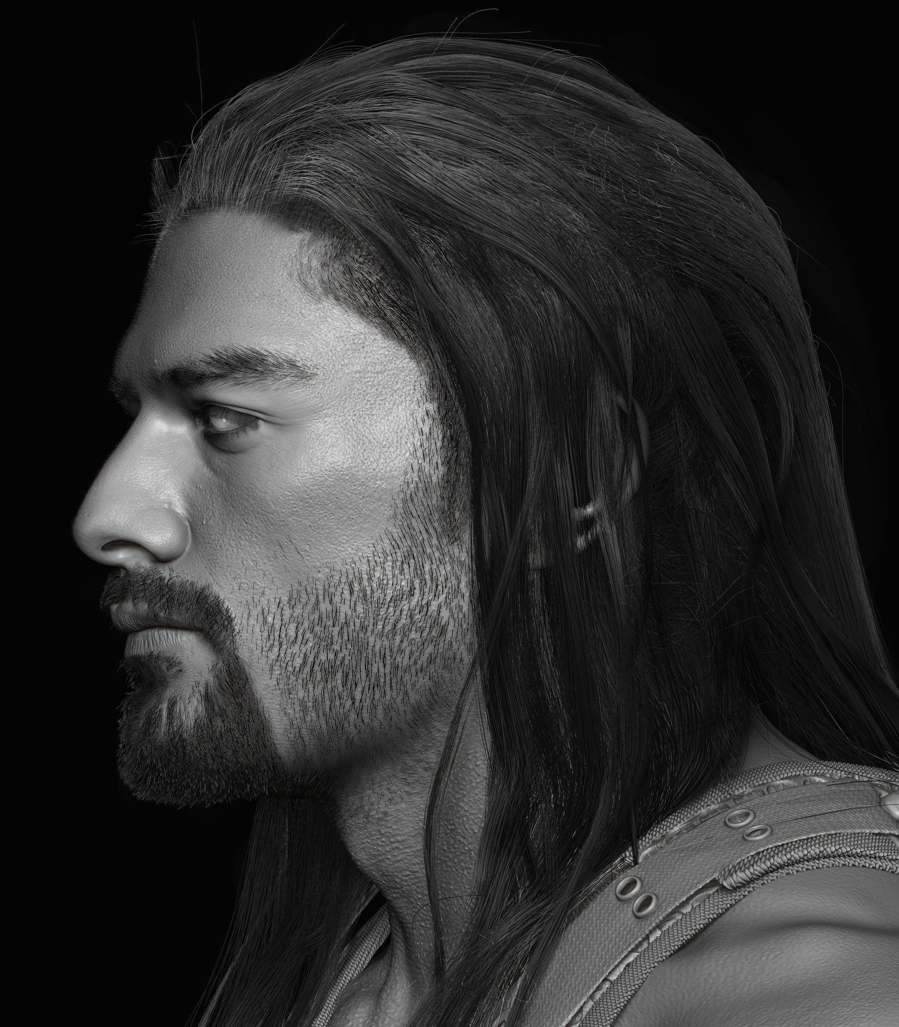 Artstation Roman Reigns Done For Wwe Hossein Diba