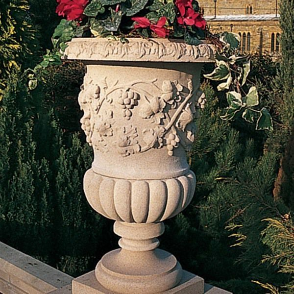 Haddonstone Florentine Urn Planter Stone Planters Urn Planters Garden Planters