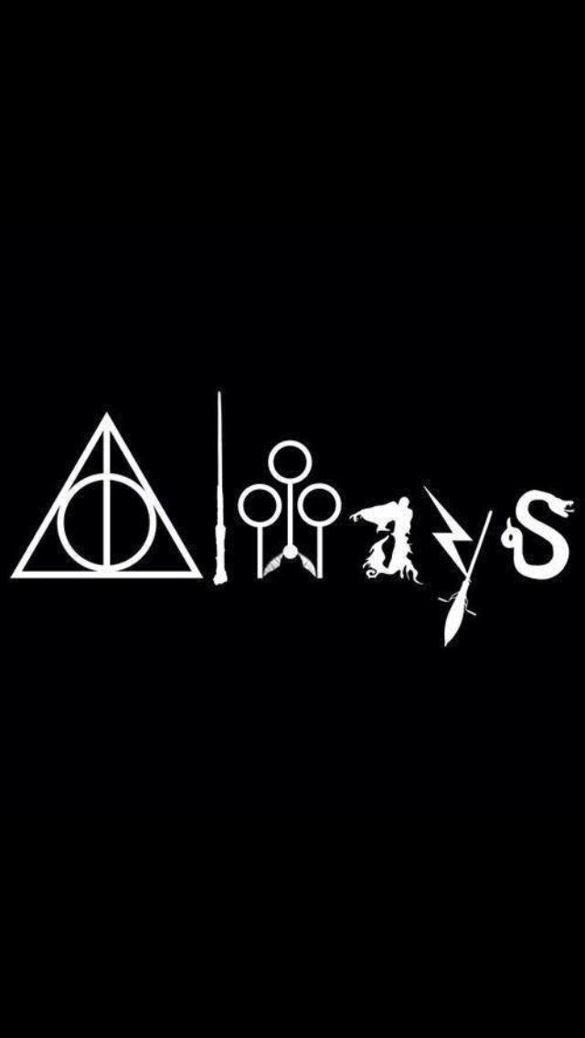 Always Wallpaper In 2020 Harry Potter Logo Always Harry Potter Harry Potter Wallpaper