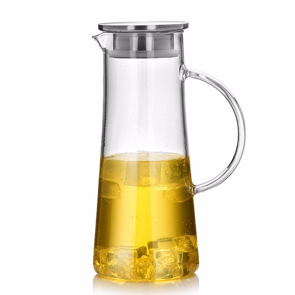Heat Resistant Glass Kettle Kuvshiny Dlya Vody Steklyannye Kuvshiny