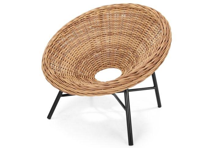 Etonnant Mustique Round Natural Wicker Garden Chair