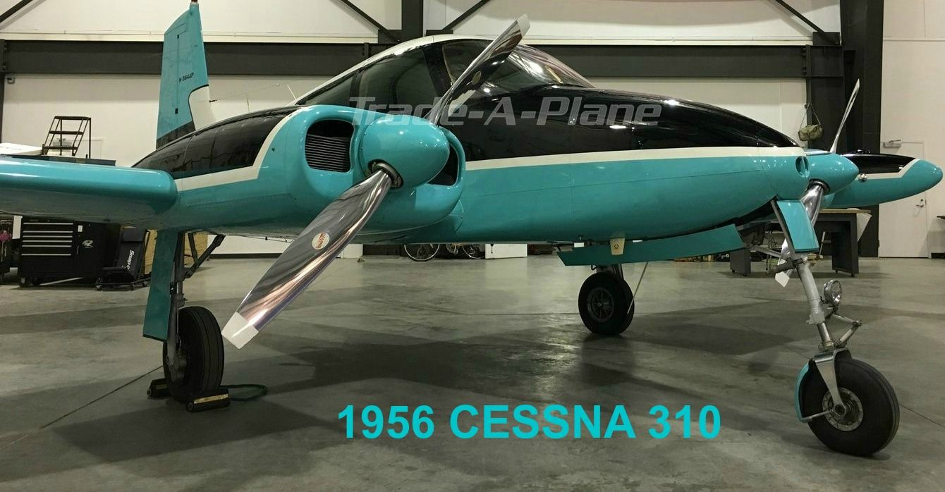 FeaturedListing 1956 Cessna 310 Available at www.TradeA