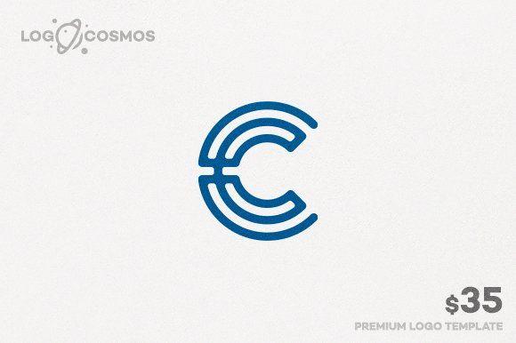 Circular Letter C Logo by Mauro Bertolino on @creativemarket