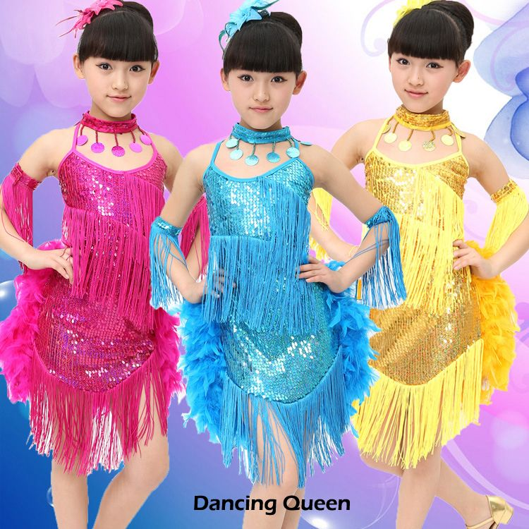 05afafc93 Cheap Ballroom, Buy Directly from China Suppliers: Latin Dance Dress  Children With Hand sewing Stone Girls Dance Dress Kids Ballroom Dance  Competition ...