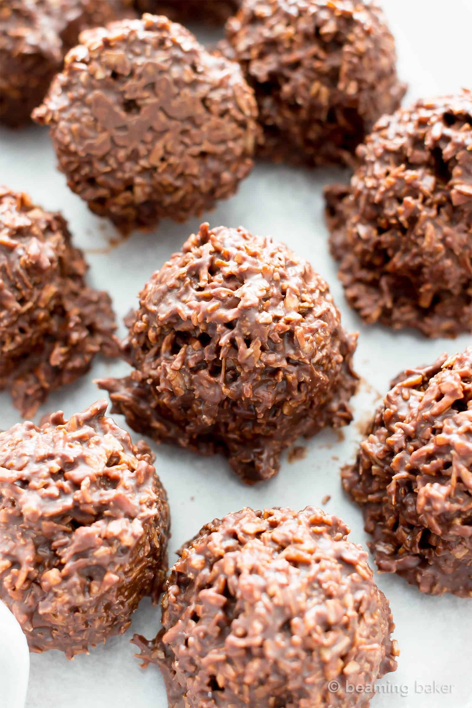 2 Ingredient Chocolate Coconut Candy Clusters V Gf Paleo A 5